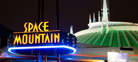 Disney's Space Mountain
