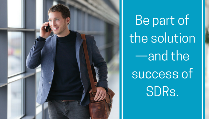 Be part of the solution—and the success of SDRs..png