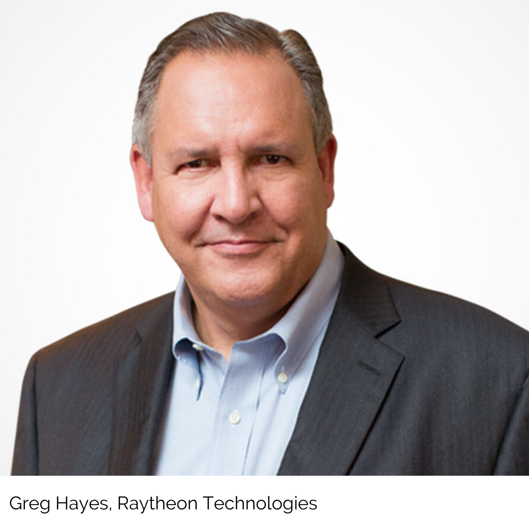 Greg Hayes, Raytheon Technologies
