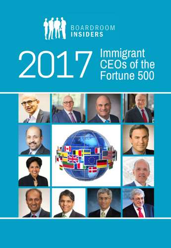 Immigrant CEOs of the Fortune 500 2017.png