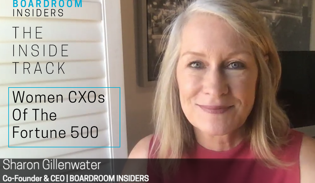 Women CXOs of the Fortune 500