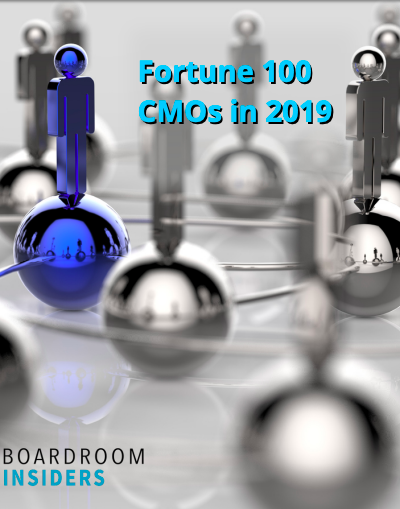 Meet the CMOs of the Fortune 100 in 2019