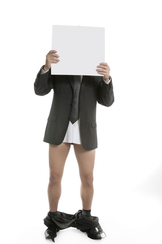 Don't Get Caught with Your Pants Down in a Sales Meeting